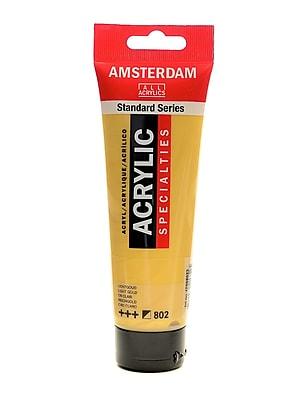Amsterdam Standard Series Light Gold Acrylic Paint, 120ml, 3/Pack (30557-PK3)
