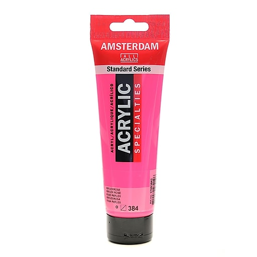 Amsterdam Standard Series Acrylic Paint Reflex Rose 120 ml Pack of 3 (36859-PK3)