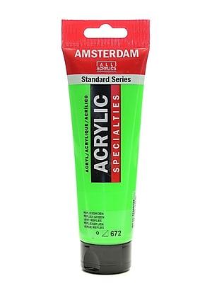 Amsterdam Standard Series Acrylic Paint, Reflex Green, 120ml, 3/Pack (36860-PK3)