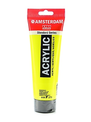 Amsterdam Standard Series Acrylic Paint primary yellow 250 ml [Pack of 2]