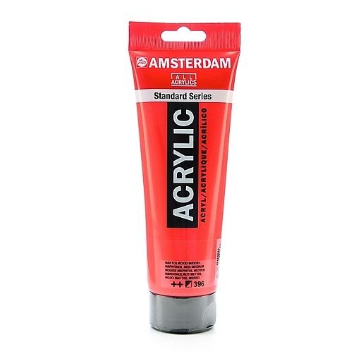 Amsterdam Standard Series Acrylic Paint, Naphthol Red Medium, 250ml, 2/Pack (71119-PK2)