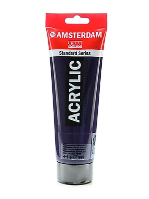 Amsterdam Standard Series Acrylic Paint permanent blue violet 250 ml [Pack of 2]