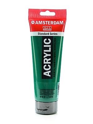 Amsterdam Standard Series Acrylic Paint Permanent Green Deep 250 ml Pack of 2 (71127-PK2)