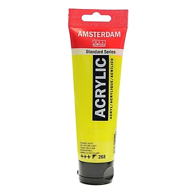 Amsterdam Standard Series Acrylic Paint Azo Yellow Light 120 ml Pack of 3 (85145-PK3)