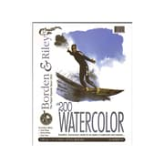 "Borden and Riley #200 Studio Watercolor Pads, 11"" x 14"", 12 Sheets, 2/Pack (52468-PK2)"