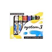 Daler-Rowney System 3-Acrylic Paint Sets, Starter (22352)