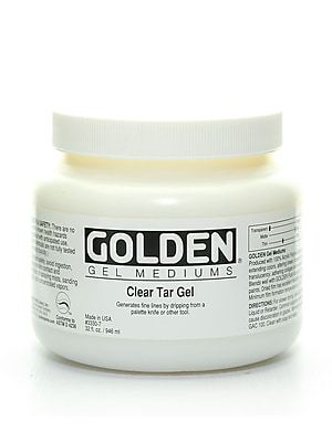 Golden Clear Tar Gel 32 oz.