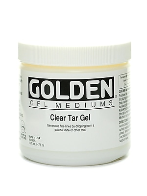 Golden Clear Tar Gel 16 oz.