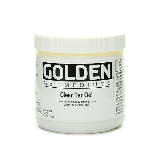 Golden Clear Tar Gel 16 oz.