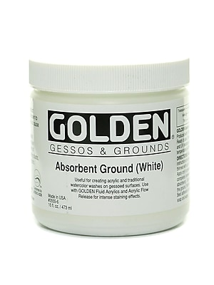 Golden Absorbent Ground, White, 16oz (60088)