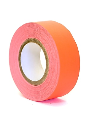 Pro Tapes Artists' Tape Fluorescent Red/Orange [Pack Of 12]