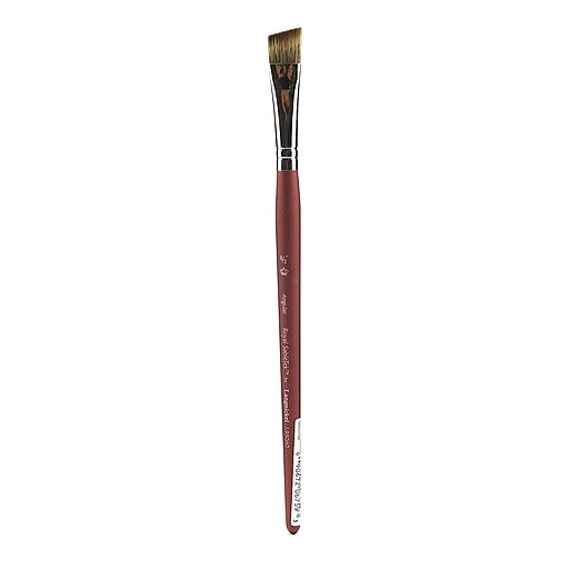 "Royal And Langnickel Royal Sabletek Brushes Short Handle, 1/2"" Angular No L95060 (75840)"