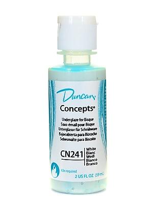 Duncan Concepts Underglaze White CN241 2 oz. Pack of 4 (52793-PK4)