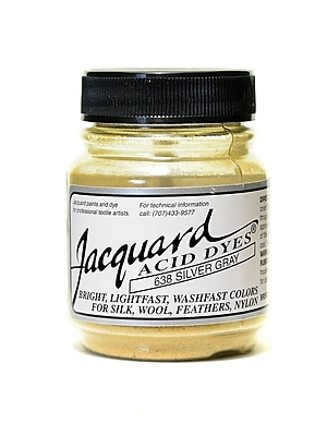 Jacquard Acid Dyes silver grey [Pack of 4]