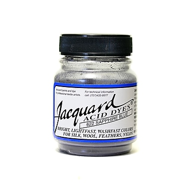 Jacquard Acid Dyes sapphire blue [Pack of 4]