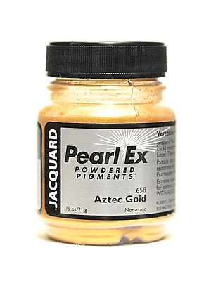 Jacquard Pearl Ex Powdered Pigments Aztec gold 0.75 oz. [Pack of 3]