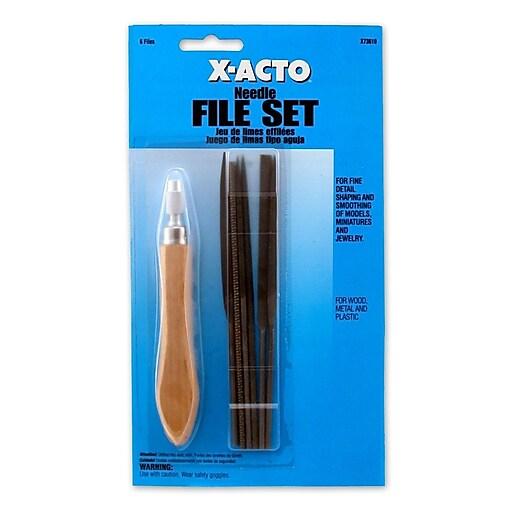 X-Acto Needle File Set Set Of 6