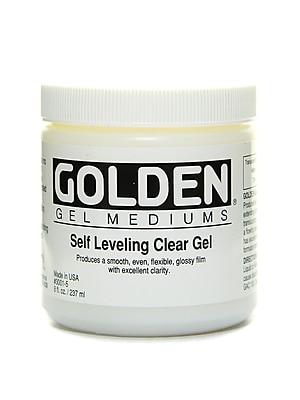 Golden Self Leveling Clear Gel 8 oz.
