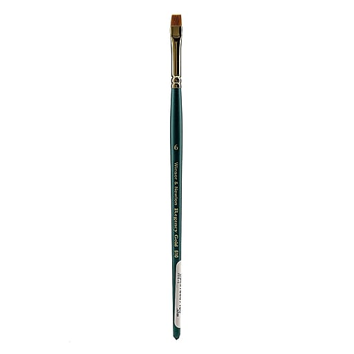 Winsor and Newton Regency Gold Decorative Painting Brushes, 6 Short Bright no 510 (38113)
