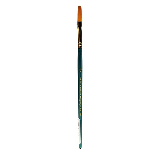 "Winsor and Newton Regency Gold Decorative Painting Brushes, 1/4"" One Stroke no 580 (80639)"