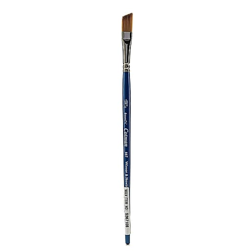 """Winsor and Newton Cotman Water Colour Brushes, 1/4"""" Angle no 667 (47844)"""