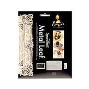 Mona Lisa Metal Leaf Imitation Silver Pack Of 25 Sheets [Pack Of 2]