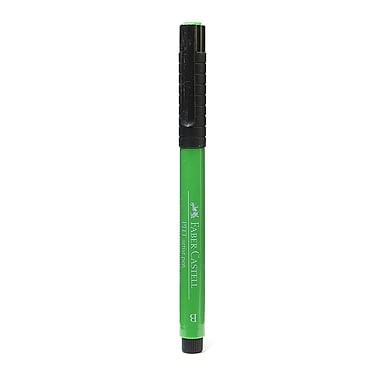 Faber-Castell Pitt Artist Pens permanent green olive brush 167 [Pack of 8]