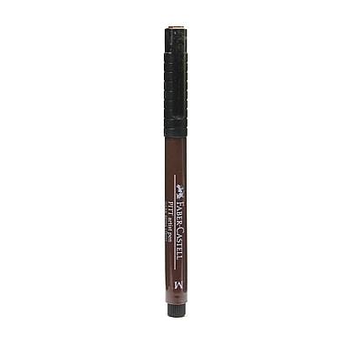 Faber-Castell Pitt Artist Pens dark sepia medium 175 [Pack of 8]