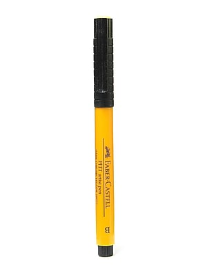 Faber-Castell Pitt Artist Pens dark chrome yellow brush 109 [Pack of 8]
