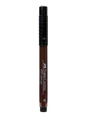 Faber-Castell Pitt Artist Pens dark sepia brush 175 [Pack of 8]