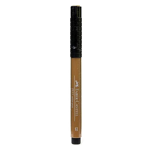 Faber-Castell Pitt Artist Pens raw umber brush 180 [Pack of 8]