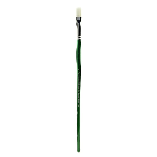 Princeton 6100 Synthetic Bristle Oil and Acrylic Brushes 6 flat