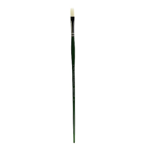 Princeton 6100 Synthetic Bristle Oil and Acrylic Brushes 4 flat