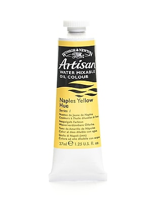 Winsor and Newton Artisan Water Mixable Oil Colours Naples yellow hue 37 ml 422 [Pack of 3]
