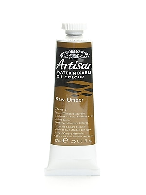 Winsor and Newton Artisan Water Mixable Oil Colours raw umber 37 ml 554 [Pack of 3]