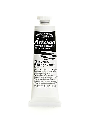 Winsor and Newton Artisan Water Mixable Oil Colours zinc white 37 ml 748 [Pack of 3]