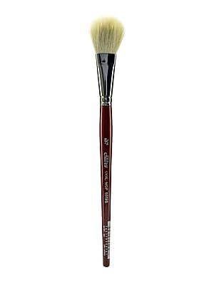 Silver Brush White Round/Oval Mop Brushes, 3/4
