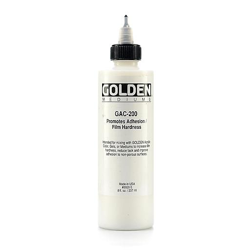 Golden GAC 200 Acrylic Medium 8 oz.