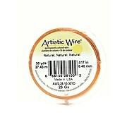 Artistic Wire 32104-Pk4 Spools 30Yd, Natural, 26-Gauge, 4/Pack