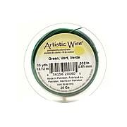 Artistic Wire Spools 15 Yd. Green 20 Gauge [Pack Of 4]