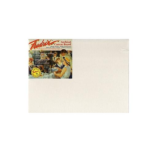 "Fredrix Pro Series Archival Canvas Board, 12"" x 16"", 2/Pack (24434-PK2)"