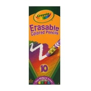 Crayola Erasable Colored Pencils set of 10 [Pack of 4]