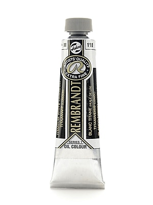Rembrandt Artist's Oil Colors titanium white (linseed) 40 ml 118