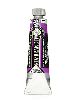 Rembrandt Artist's Oil Colors permanent violet medium 40 ml 537