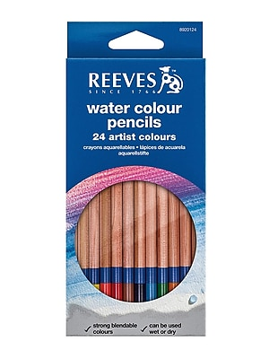 Reeves Water Colour Pencils set of 24