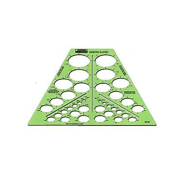 Rapidesign Ellipses Drafting Templates isometric ellipses 38 ellipses each