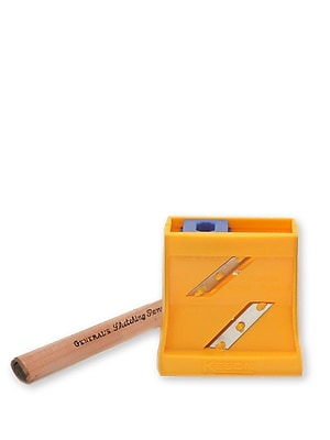 General's Flat Point Pencil Sharpener flat point sharpener with pencil [Pack of 3]