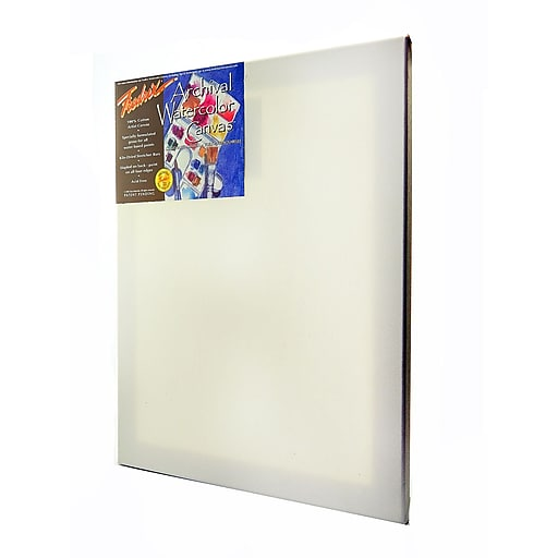 Fredrix Archival Watercolor Stretched Canvas 16 in. x 20 in. each