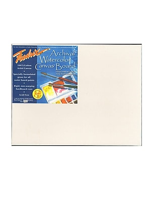 Fredrix Archival Watercolor Canvas Board 11 in. x 14 in. each [Pack of 2]