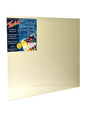 Fredrix Archival Watercolor Canvas Board 16 in. x 20 in. each [Pack of 2]